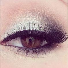 Gümüş rengi makyaj . Silver Makeup... #gumus #silver #makyaj #makeup