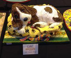 NEC 2013 Doggie Cake, Cake International, 3d Dog, Animal Cakes, Dog Cakes, Novelty Cakes, Awesome Cakes, Fancy Pants, Wedding Cakes