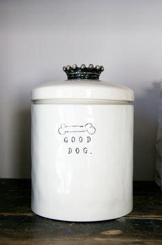 Mungo & Maud Dog Treat Jar