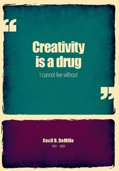 Truth, but actually after working in corporations for years, I had to actively relearn how to be creative. I began by seeing animals in the clouds...sdole