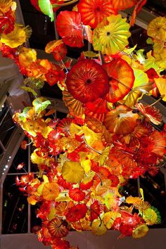 Chihuly Garden and Glass at Seattle Center #art #glass