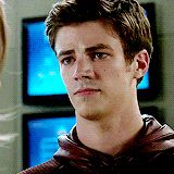 My name is Barry Allen and I'm the fastest cutest man alive. (◕‿◕✿)