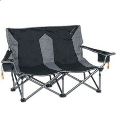 Kelty Low-Love Two-Person Camping Chair, Camp chairs, Outdoor Chair, Loveseat, Love Seat