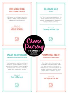 How to Host a Wine and Cheese Pairing Party + Free Printable