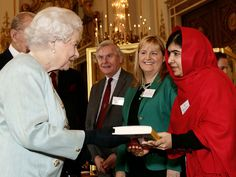 Malala: I had to miss school to meet the queen