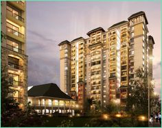 Being wrapped into the mesmerizing lush green environment, this remarkable gated community features most elegant view of the entire premises.