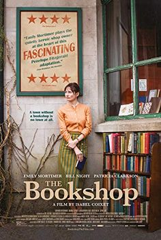 England In a small East Anglian town, Florence Green decides, against polite but ruthless local opposition, to open a bookshop. Movie To Watch List, Good Movies To Watch, Great Movies, Film Movie, Cinema Film, Comedy Movies, Horror Movies, Movies Showing, Movies And Tv Shows