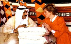Explore the Waxbitch®'s   Diana Princess of Wales on their visit aboad