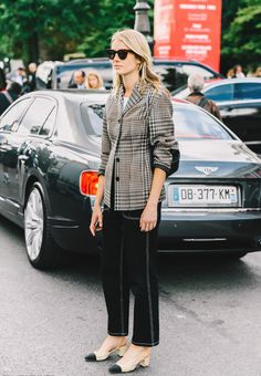 Currently Crushing On: Plaid & Houndstooth Blazers