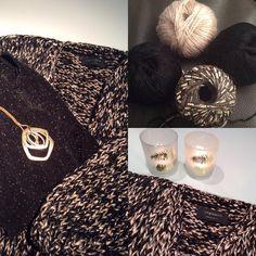 🔗A touch of silver🔗 Ice Yarns, Yarn Inspiration, Knitting Designs, Knitting Yarn, Pulls, Lana, Christmas Diy, Needlework, Diy And Crafts