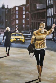 "Saatchi Online Artist: Valerie Carpender; Acrylic, 2012, Painting ""Untitled"""