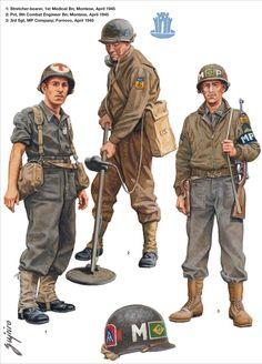 Brazilian Expeditionary Force (FEB) - uniforms