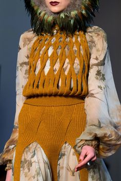 Jean Paul Gaultier   Haute Couture   Fall 2016 #creative #textiledesign #fw16