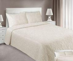Kvalitní béžové přehozy na postel Bed, Furniture, Home Decor, Decoration Home, Stream Bed, Room Decor, Home Furnishings, Beds, Home Interior Design