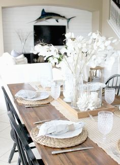 Coastal Greys in the Kitchen   Starfish Cottage