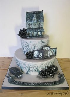 supernatural birthday cakes | For a lady who loves the show Supernatural & especially the Winchester ...