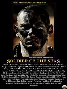 I'm a United States Marine. And just who the hell are you? Spoken like a true Marine Usmc Quotes, Military Quotes, Military Humor, Military Life, Once A Marine, Marine Mom, Us Marine Corps, Oorah Marines, Marines Funny