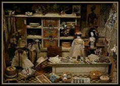 Miniatuur winkel