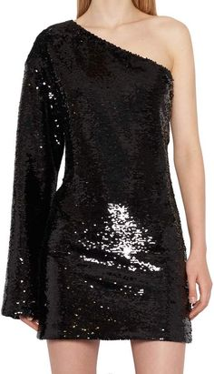 Shop Rta Dress and save up to EXPRESS international shipping! Sequin Skirt Outfit, Black Sequin Skirt, Sequin Mini Dress, Sequin Top, Black Sequins, Skirt Outfits, Luxury Fashion, Mens Fashion, Fashion Dresses