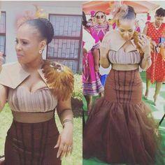 shweshwe dresses for a wedding 2017 African Wedding Theme, African Wedding Attire, African Attire, African Weddings, African Traditional Wedding Dress, Traditional Wedding Attire, Traditional Outfits, Traditional Weddings, African Print Dresses