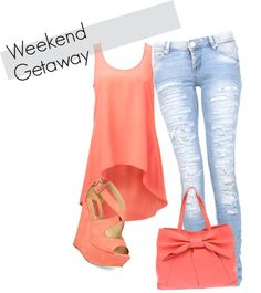 """""""Weekend Getaway outfit"""" by amycohen101 ❤ liked on Polyvore"""
