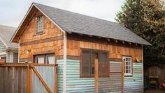 Drømte å bygge sitt eget hus – trengte ikke se lenger enn til garasjen for å oppfylt drømmen.