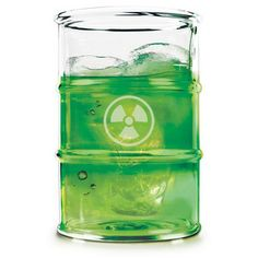 Polluted Toxic Waste Glasses.  Great for parties with kids, so they know which drinks are the adults.