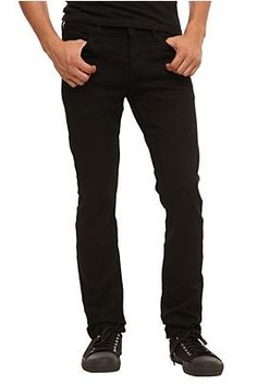 Rude Black Skinny Rider Denim Jeans