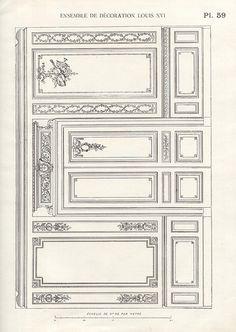Georgian Interiors, Rustic Interiors, Luxury Homes Interior, Home Interior Design, Ceiling Design, Wall Design, Luis Xvi, Plafond Design, Classic Ceiling