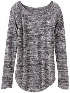 Athleta Shanti sweater. (The best slub wear.)