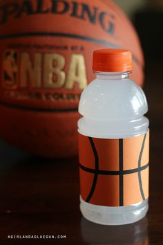 My son is in basketball…and you know when you are asked to bring a drink…and you are a crafter. you can't just BRING a drink. You have to make it festive. They have little sport drinks that are perfect for kids. Lots of fun colors! Just cut off the wrapper and add your own (printables …