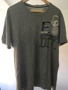 d873e27c601692 graues T-Shirt mit Aufdruck von Angelo Litrico (C A)