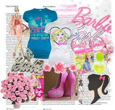 """CUTE BARBIE :-)"" by sanja90 ❤ liked on Polyvore"
