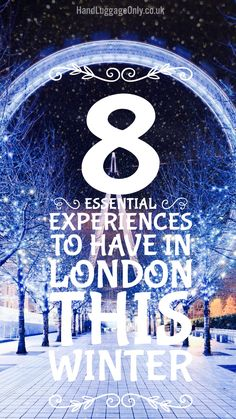 8 Essential Experiences To Have In London This Winter - Hand Luggage Only… London In January, Day Trips From London, Things To Do In London, London 2016, London Life, London Winter, London Christmas, Christmas Markets, Travel Tours