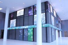 #Scala controls stunning displays at NPR's new HQ - #digital #signage best case