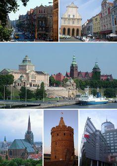Szczecin, Poland...my home town