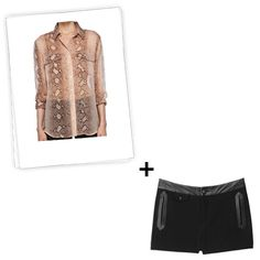 How to Make Your Shorts + Blouse Combo Work From 9 to 5