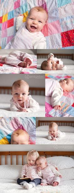 Toronto baby photographer - 3 months photos - Emily Krbec Photography