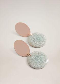 Ceramic earrings - Woman | Mango South Africa Manga, Jewelry Box, Jewellery, Women's Earrings, Initials, South Africa, Woman, Earrings, Women