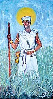 Oko - orisha of agriculture and the harvest.