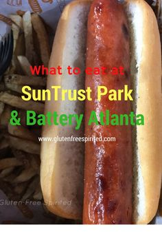 See the gluten-, soy-, and dairy-free options at SunTrust Park and Battery Atlanta.