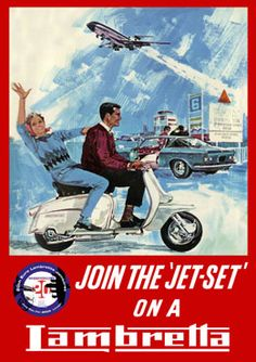 "Join the ""Jet-Set"" on a Lambretta"