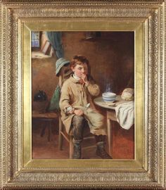 Dealer or Reseller Listed Realism Oil Original Art Paintings , without Listed by Self-Representing Artist? Wells, Original Art, Victorian, Oil, The Originals, Antiques, Interior, Artist, Painting