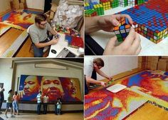 Face painting ideas – Painting of the Rubik's Cube .jpg