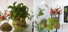 Havada-Asılı-Bahçe-Kokedama-1 Plants, Gardens, Plant, Planets