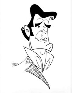276 best caricatures images celebrity caricatures drawings funny Weird Celebrities original caricature by jeff york of james garner 2014 celebrity drawings celebrity