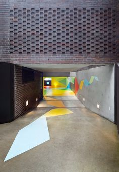 Underground Parking Garage  http://creativereview.co.uk/cr-blog/2012/january/craig-karls-colourful-carpark