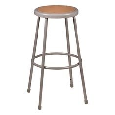 """Metal Lab Stool - Fixed Height (30\"""" H) $25"""