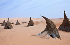 Libya,Sahara desert,a tuareg village in the Ubari lakes area by Exodus Travels - Reset your compass