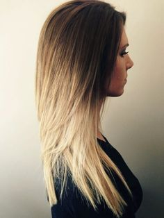 Blue Ombre Hair Color Light and Dark Shades Blonde Ombre Hair Colors You Should Try Hair World Magazine. Blonde Ombre Hair Colors You Should Try Hair World Magazine. Hair Blond, Blond Ombre, Ombré Hair, Brown Blonde, Bright Blonde, Frizzy Hair, Ombre Brown, Blonde Color, White Blonde